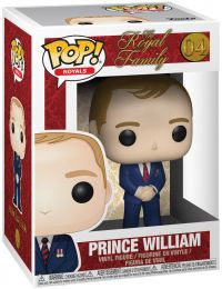 Figurine Funko Pop La Famille Royale #4 Prince William Duc de Cambridge
