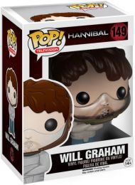 Figurine Funko Pop Hannibal #149 Will Graham avec Camisole de force