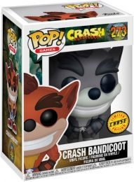 Figurine Funko Pop Crash Bandicoot #273 Crash Bandicoot - Noir et Blanc [Chase]