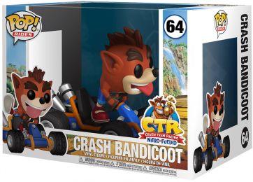 Crash Bandicoot-Floqué Crash Bandicoot Funko POP Vinyl Figure #273