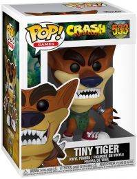 Figurine Funko Pop Crash Bandicoot #533 Tiny Tiger