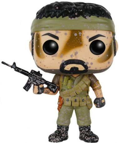 Figurine Funko Pop Call of Duty #69 MSGT Frank Woods - Éclaboussures de Boue
