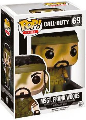 Figurine Funko Pop Call of Duty #69 MSGT Frank Woods