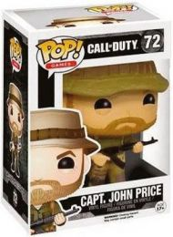 Figurine Funko Pop Call of Duty #72 Capitaine John Price