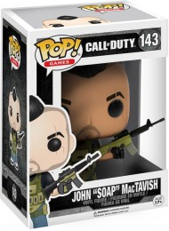 "Figurine Funko Pop Call of Duty #143 John ""Soap"" MacTavish"