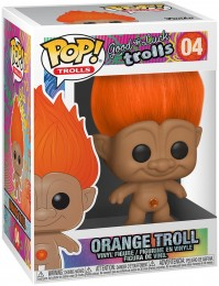 Figurine Funko Pop Les Trolls #4 Troll Orange