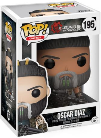 Figurine Funko Pop Gears of War #195 Oscar Diaz