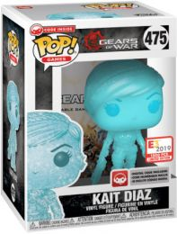 Figurine Funko Pop Gears of War #475 Kait Diaz - Translucide