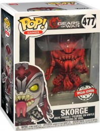Figurine Funko Pop Gears of War #477 Skorge Rouge