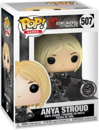 Figurine Funko Pop Gears of War #507 Anya Stroud