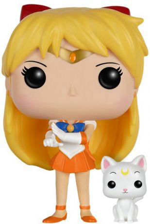 Figurine Funko Pop Sailor Moon #94 Sailor Venus avec Artemis