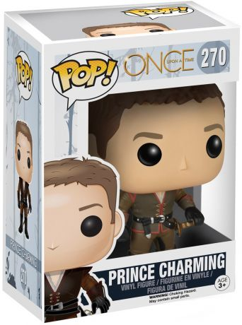 Figurine Funko Pop Once Upon a Time #270 Prince Charmant