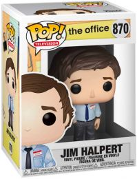 Figurine Funko Pop The Office #870 Jim Halpert