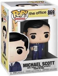 Figurine Funko Pop The Office #869 Michael Scott