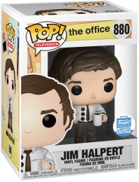 Figurine Funko Pop The Office #880 Jim Halpert Poinçon 3 trous