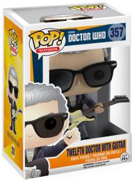 Figurine Funko Pop Doctor Who #357 12e Docteur avec Guitare