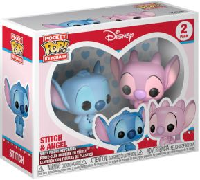 Figurine Funko Pop Lilo et Stitch [Disney] #0 Stitch and Angel - 2 Pack