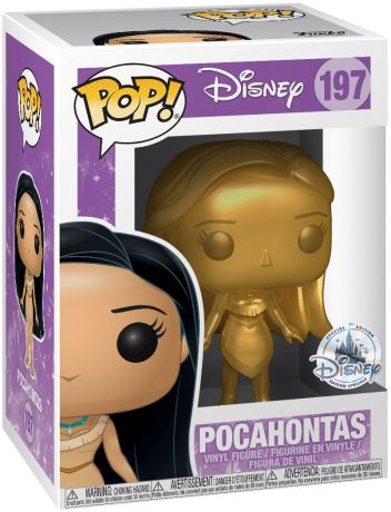 Figurine Funko Pop Pocahontas [Disney] #197 Pocahontas - Or