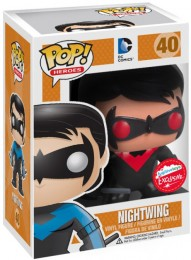 Figurine Funko Pop DC Comics #40 Nightwing avec Costume Rouge et Noir
