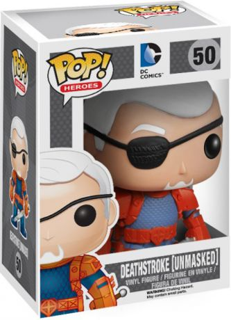 Figurine Funko Pop DC Comics #50 Deathstroke sans Masque