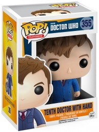 Figurine Funko Pop Doctor Who #355 10e Docteur avec Main