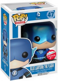 Figurine Funko Pop DC Comics #47 The Flash (Blue Lantern) - Métallique