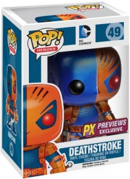 Figurine Funko Pop DC Comics #49 Deathstroke - Métallique
