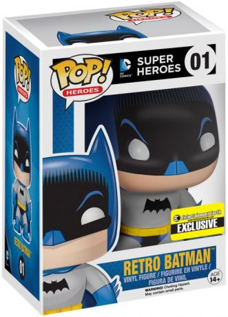 Figurine Funko Pop DC Super-Héros #01 Batman