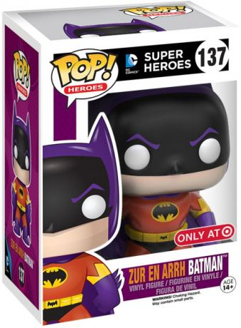 Figurine Funko Pop DC Super-Héros #137 Batman (Zur En Arrh)