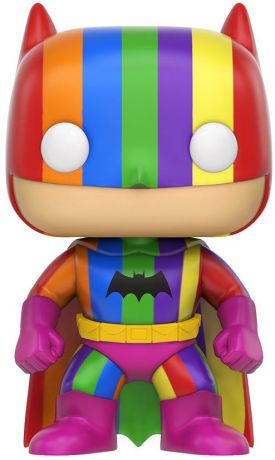 Figurine Funko Pop DC Super-Héros #01 Batman avec Costume Multicolore