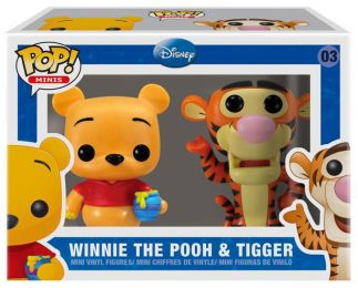 Figurine Funko Pop Disney premières éditions [Disney] #3 Winnie l'Ourson et Tigrou - 2 Pack