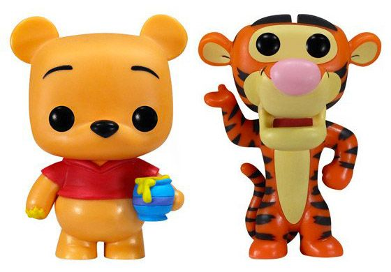 Figurine Funko Pop Disney premières éditions [Disney] #03 Winnie l'Ourson et Tigrou - 2 Pack