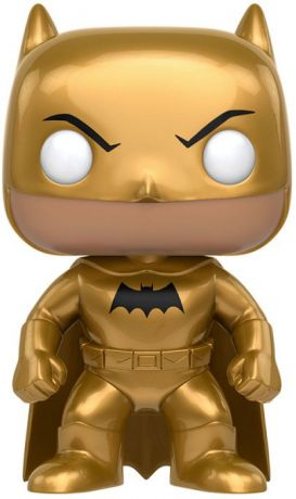 Figurine Funko Pop DC Super-Héros #163 Batman (Golden Midas) - Métallique