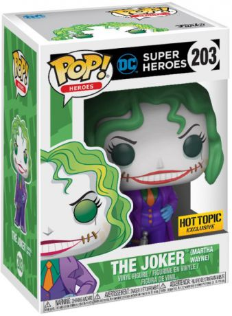Figurine Funko Pop DC Super-Héros #203 The Joker (Martha Wayne)