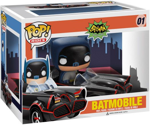 Figurine Funko Pop Batman Série TV [DC] #01 Batmobile