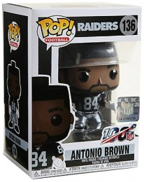 Figurine Funko Pop NFL #136 Antonio Brown