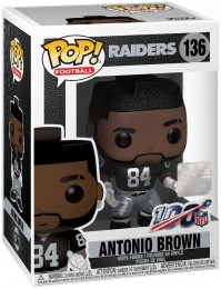 Figurine Funko Pop NFL #136 Antonio Brown - Raiders