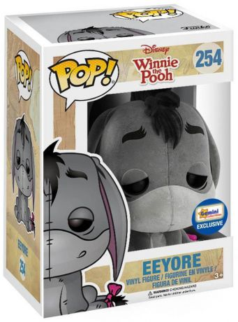 Figurine Funko Pop Winnie l'Ourson [Disney] #254 Bourriquet - Floqué