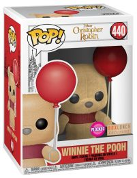 Figurine Funko Pop Winnie l'Ourson [Disney] #440 Winnie l'Ourson avec Ballon Rouge - Floqué
