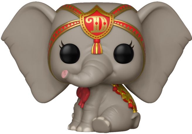 Figurine Funko Pop Dumbo 2019 [Disney] #512 Dreamland Dumbo avec Costume Rouge