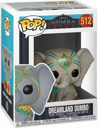 Figurine Funko Pop Dumbo 2019 [Disney] #512 Dreamland Dumbo avec Costume Bleu
