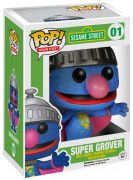 Figurine Funko Pop Sesame Street #1 Super Grover