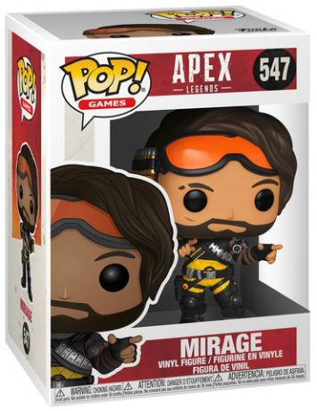 Figurine Funko Pop Apex Legends #547 Mirage