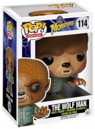 Figurine Funko Pop Universal Monsters #114 Le Loup-Garon