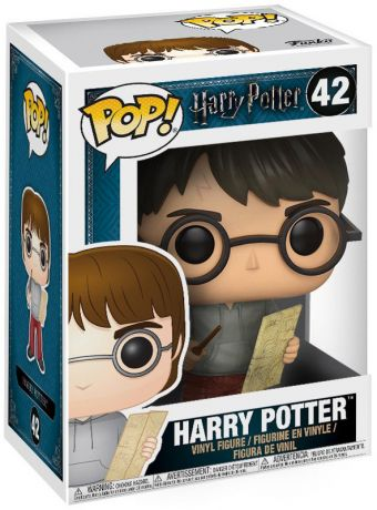 Figurine Funko Pop Harry Potter #42 Harry Potter avec la carte du maraudeur
