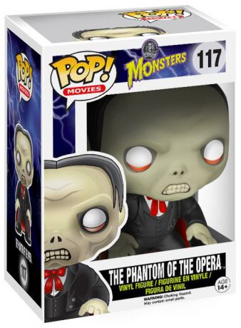 Figurine Funko Pop Universal Monsters #117 Le Fantôme de l'Opéra