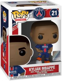 Figurine Funko Pop Premier League #21 Kylian Mbappe - PSG