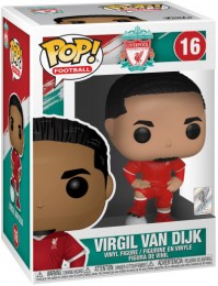 Figurine Funko Pop Premier League #16 Virgil Van Dijk - Liverpool