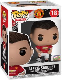 Figurine Funko Pop Premier League #18 Alexis Sanchez - Manchester United