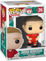 Figurine Funko Pop Premier League #26 Jordan Henderson - Liverpool